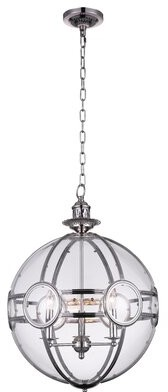 Darby Home Co Fanning 3-Light Candle Style Globe Chandelier