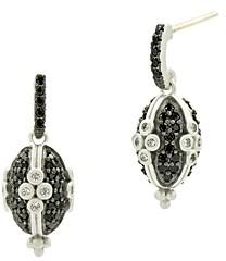 Freida Rothman Industrial Clover Earrings