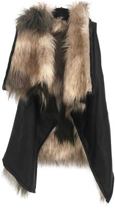 Urban Code Urbancode Multicolour Faux fur Leather Jacket for Women