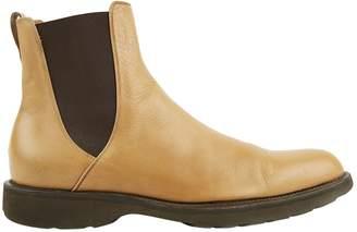 Salvatore Ferragamo Brown Leather Boots
