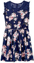 Jenna & Jessie Lace Floral Dress (Little Girls)