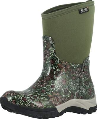 Bogs Women's Daisy Bright Garden Waterproof Rain Shoe