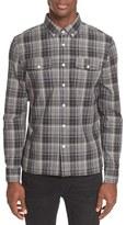 Saturdays Nyc Men's Javas Plaid Shirt