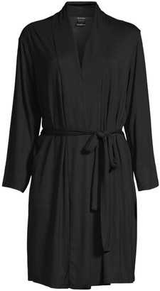 Natori Long-Sleeve Wrap Robe