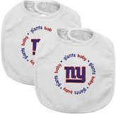 Baby Fanatic Team Color Bibs, New York Giants, 2-Count by