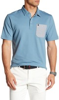 Travis Mathew Lonie Button Pocket Polo