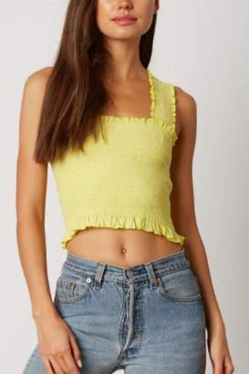 Cotton Candy Neon Smocked Top