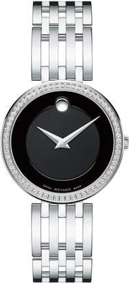 Movado 28mm Esperanza Diamond Bracelet Watch