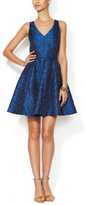 Erin Fetherston Soiree Jacquard Fit & Flare Dress