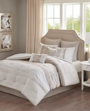 510 Design Ramsey Queen Embroidered 8 Piece Comforter Set Bedding