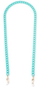 Zenzii Gold-Tone Color-Coated Link Chain Mask Holder