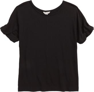 Habitual Isla Short Sleeve Roll Cuff Top