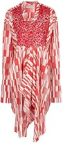 J.W.Anderson asymmetric tunic top red