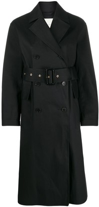 MACKINTOSH Laurencekirk double-breasted trench coat | LR-1012