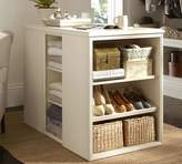 Pottery Barn Closet Island Set with Jewelry Topper