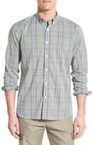 Victorinox Long Sleeve Plaid Slim Fit Shirt
