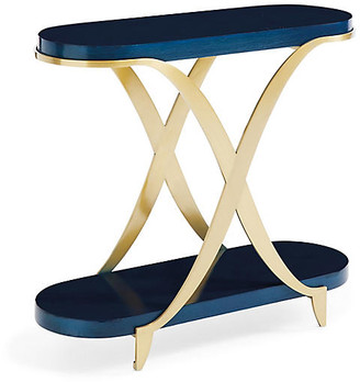 Caracole By Side Table - Champagne Gold