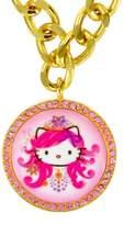 Tarina Tarantino Jewelry Hello Kitty Head Bold Chain Necklace