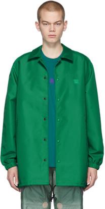 Acne Studios Green Patch Coach Jacket