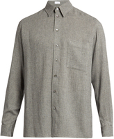 Raey Loose-fit button-through shirt
