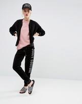 Juicy Couture Malibu Crystal Velour Jogging Bottom