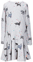 Joules Little Girls 3-6 Evaline Dog-Print Dress