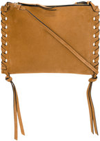 Isabel Marant Kemos zipped shoulder bag - women - Suede - One Size