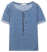 Rag & Bone Denim blouse