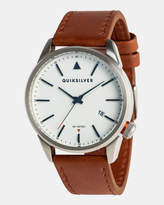 Quiksilver Mens The Timebox 48mm Leather Watch