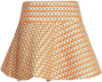 RED Valentino Jacquard Mini Skirt