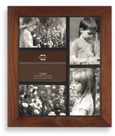 Bed Bath & Beyond Prinz Adler 5-Opening 4 inches x 6 inches Wood Frame in Walnut