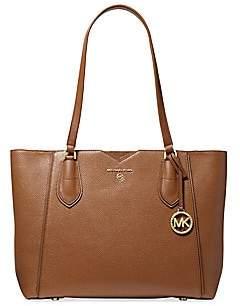 MICHAEL Michael Kors Women's Medium Mae Leather Tote