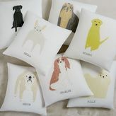 west elm Monogrammed Dog Pillow Cover