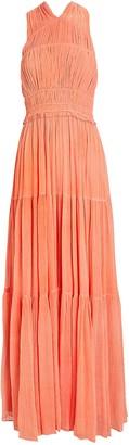 Ulla Johnson Freesia Silk Gauze Gown