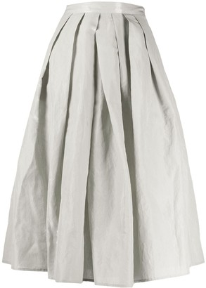 Fabiana Filippi Full Shape Pleated Skirt