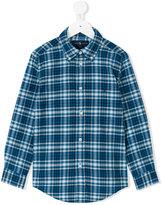 Ralph Lauren plaid shirt - kids - Cotton - 2 yrs