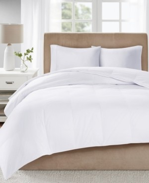 True North by Sleep Philosophy Level 3 300 Thread Count Cotton Sateen White King Down Comforter with 3M Scotchgard