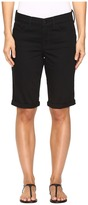 NYDJ Briella Roll Cuff Shorts in Black Women's Shorts