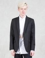 Matthew Miller Curtis Wool Single Breast Blazer