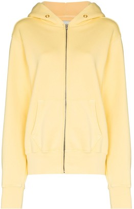 LES TIEN Zipped Hooded Jacket
