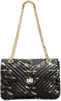 Steve Madden Bonds Splatter Paint Medium Flapover Crossbody