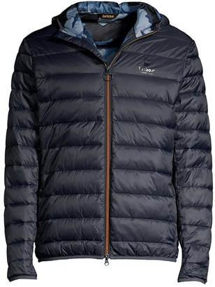 Barbour Hooded Quilted Puffer Jacket
