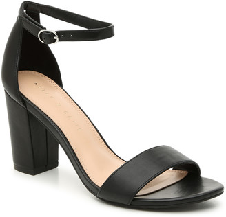 Kelly & Katie Women's Hailee Sandals Black Size 5 Multiple Uppers From Sole Society