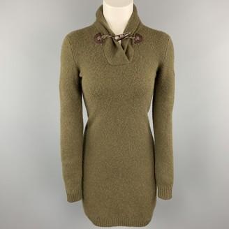 Ralph Lauren Green Wool Dresses
