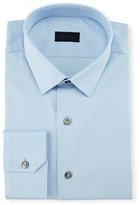 Lanvin Solid Dress Shirt, White