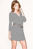 Joie January Belted Dress in Deep Sea Stripes