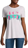 Arizona Boy Bye or This is the real me or Sketch Heart Graphic T-Shirt- Juniors