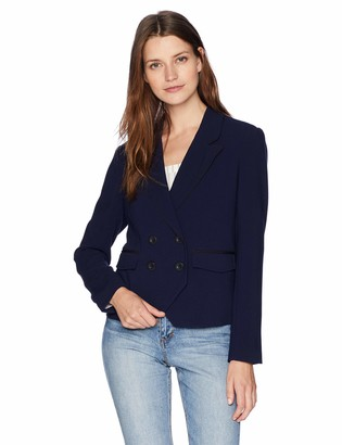 Cupcakes And Cashmere Women's Grecco Double Breasted Blazer