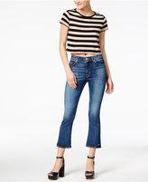 Hudson Lonestar Cropped Kick-Flare Jeans