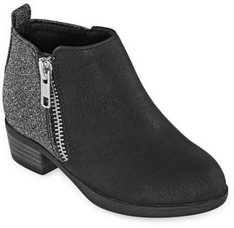 Okie Dokie Toddler Girls Od Lil Cora Block Heel Booties